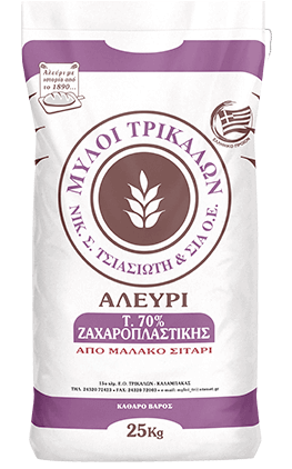 Product image Αλεύρι Τ70% Ζαχαροπλαστικής 25k