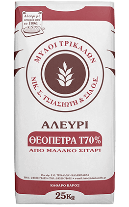 Product image Αλεύρι Τ70% Θεόπετρα 25kg