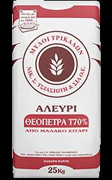 Αλεύρι Τ70% Θεόπετρα 25kg