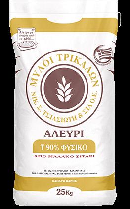 Product image Αλεύρι Τ90% Φυσικό 25kg