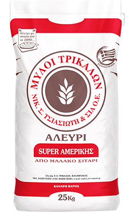 Product image Αλεύρι Super Αμερικής 25 kg