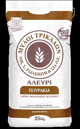 Product image Αλεύρι Πουράκια 25 kg