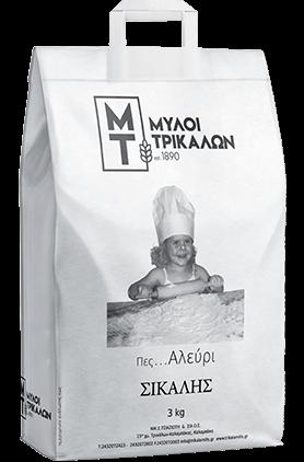 Product image Αλεύρι Σίκαλης 3 kg