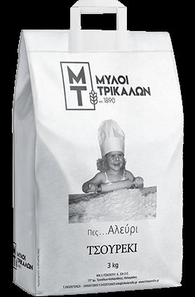 Product image Αλεύρι Τσουρέκι 3 kg