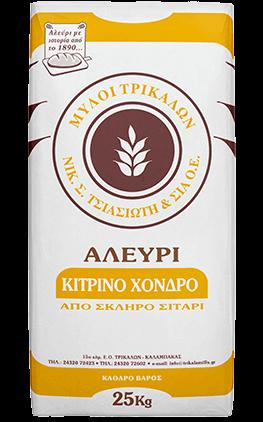 Product image Αλεύρι Κίτρινο Χοντρό 25 kg