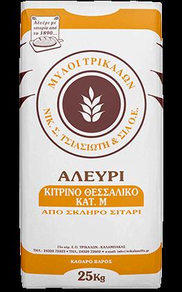 Product image Αλεύρι Κίτρινο Θεσσαλικό 25 kg