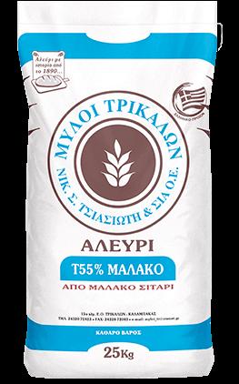 Product image Αλεύρι Τ55% Μαλακό 25 kg