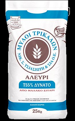 Product image Αλεύρι Τ55% Δυνατό 25 kg
