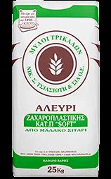 Αλεύρι Ζαχαροπλαστικής Κατ.Π. Soft 25 kg