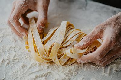 Recipe image Χειροποίητα ζυμαρικά