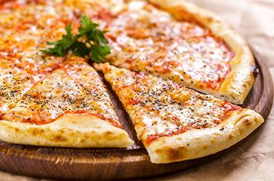 Recipe image Πίτσα μαργαρίτα
