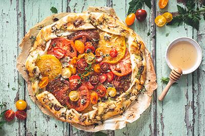 Recipe image Τάρτα με ντομάτα
